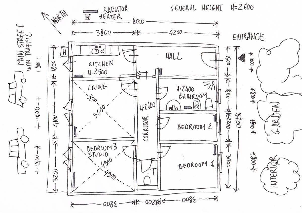 Floor Plan Online Architecture Design Service